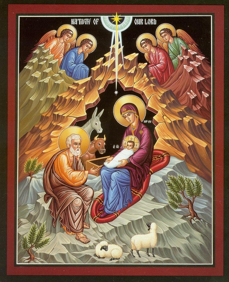 Рождество иконы картинки